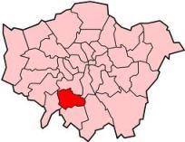 Lambeth map